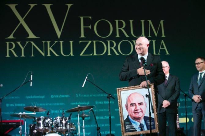 Portrety Polskiej Medycyny 2019 – tytuł Menedżer Rynku Zdrowia w kategorii placówek niepublicznych dla Prezesa Magodent Grupa LUX MED.
